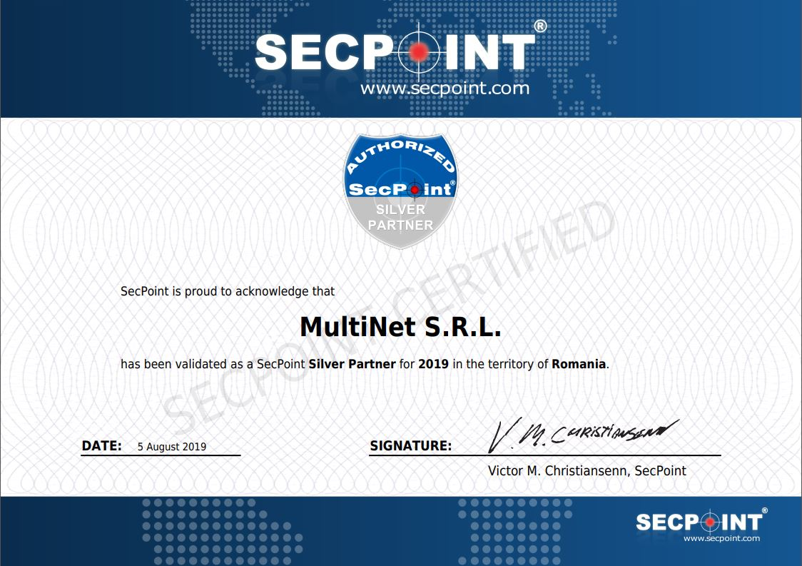 SecPoint Silver Partner 2019